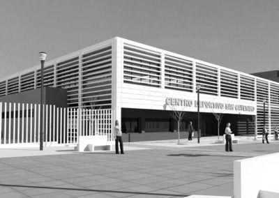 Centro Deportivo San Cayetano. Córdoba