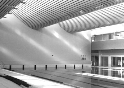 Indoor Swimming Pool and Research Center INEF. Granada