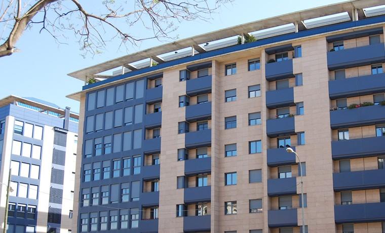 104 viviendas edificio puerta realbm2 architecture for Edificio puerta real madrid