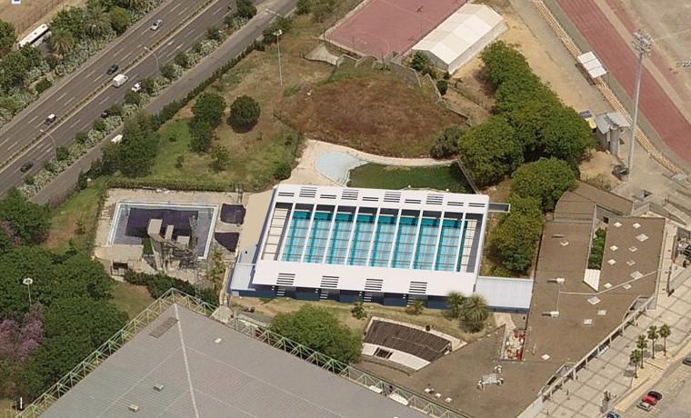 Piscina cubierta centro deportivo san pablobm2 for Piscina municipal camilo cano