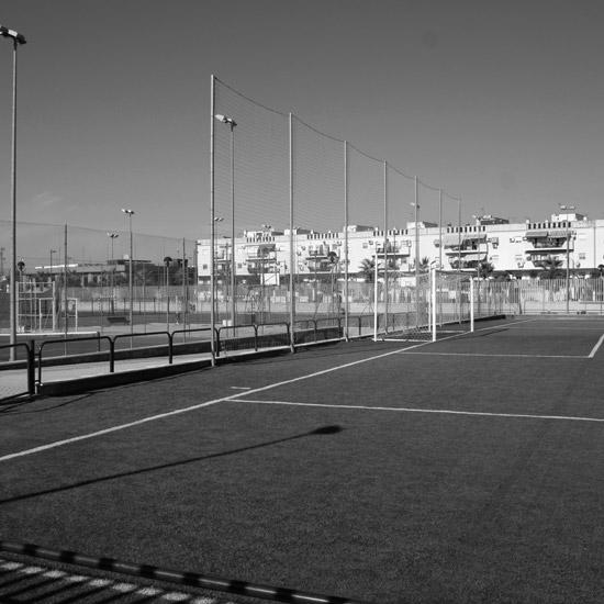 Portada Centro Polideportivo en La Rinconada