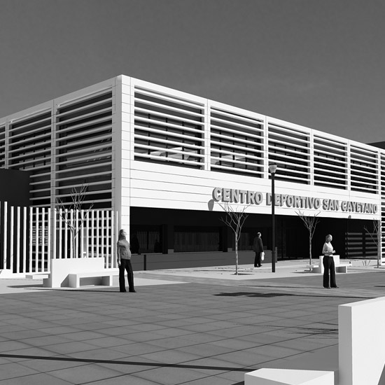 Portada Centro Deportivo San Cayetano en Córdoba