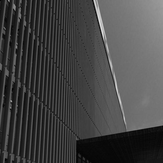 Portada Edificio Administrativo en Málaga