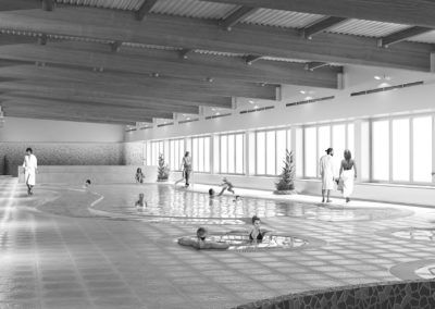 Extension Swimming Pool & Spa in Palos de la Frontera. Huelva