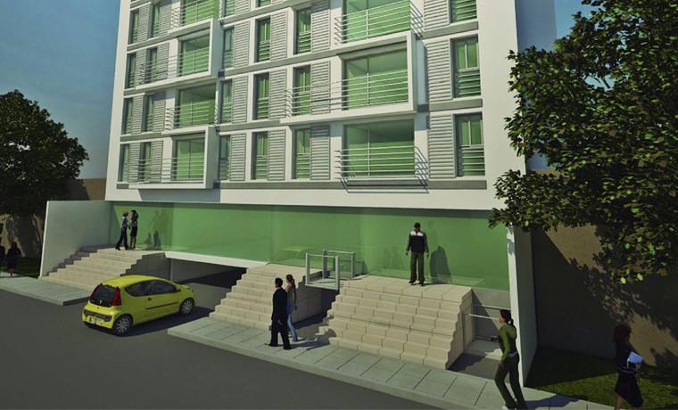 Edificio de 88 Viviendas en Lima