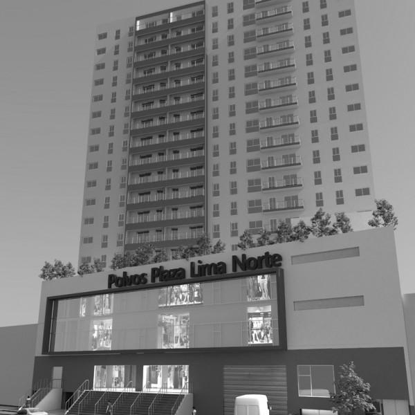Portada Edificio de 504 Viviendas y Galería Comercial en Lima