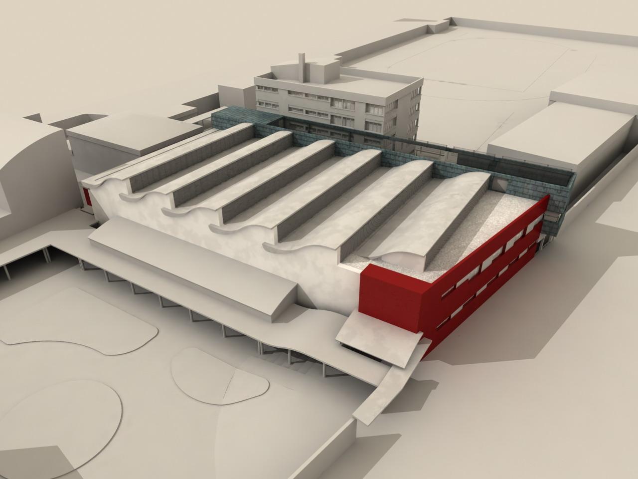 Ficha proyecto piscina cubierta y centro de investigaci n for Piscina cubierta alminares granada