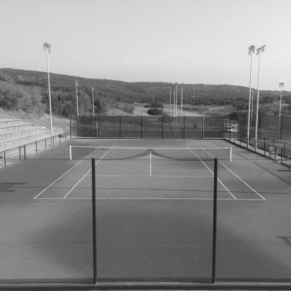 """Portada Centro de Tenis """"La Reserva"""" en Sotogrande"""