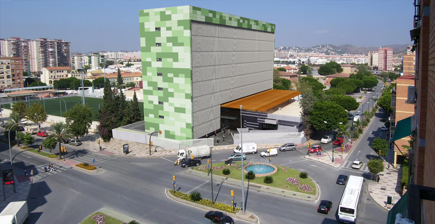 Edificio Administrativo en Málaga