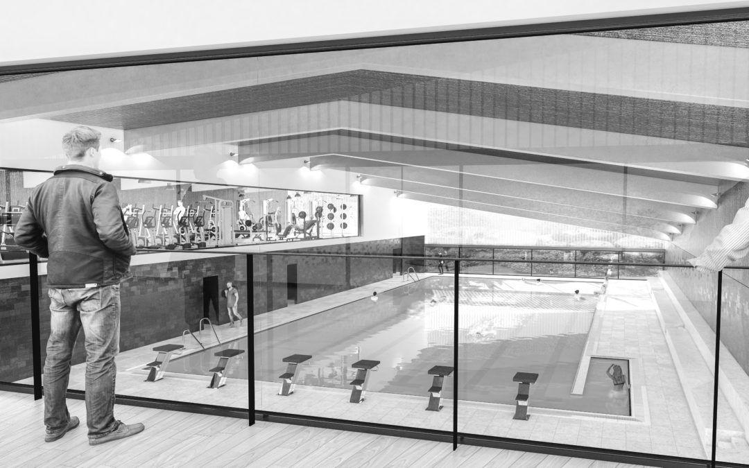 Piscina Cubierta en la Ciudad Deportiva de Huelva