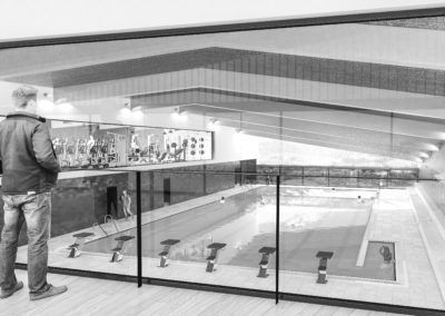 Indoor Swimming Pool in Sports Center of Huelva