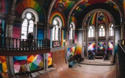 Reconversiones: Arte, deporte y arquitectura