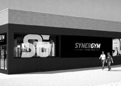 Gym Chain SYNERGYM. Spain